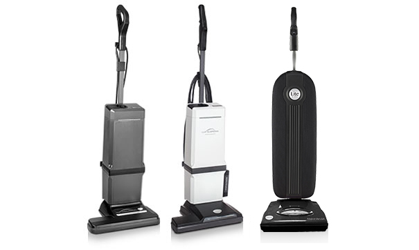 Lux Line of Upright Vacuums